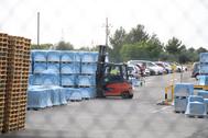 El MInisterio ha permitido seguir con las cargas de mercancías en la industria cerámica.