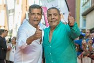 Juan Salazar, a la derecha en la imagen.