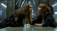 Lisboa (Itziar Ituño) y Sierra (Najwa Nimri) en un fotograma de la cuarta temporada de 'La Casa de Papel'.