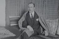 Don Leopoldo Torres Balbás, director de la Alhambra entre 1923 y 1936.