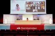 Junta de Accionistas del Banco Santander.