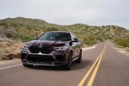 Al volante del BMW X6 M Competition: un SUV demoledor
