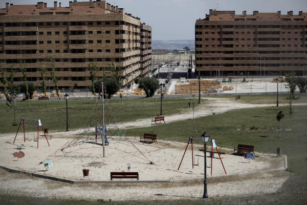 Edificaciones en la urbanización levantada por 'el Pocero' en Seseña.