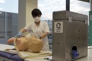 Prueba del OxyGEN, el respirador de Seat diseñado en colaboración con Protofy XYZ
