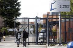 Entrada del colegio Tajamar, en una imagen de archivo.