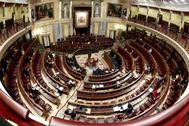 El Congreso, durante la votación de la prórroga del estado de alarma.