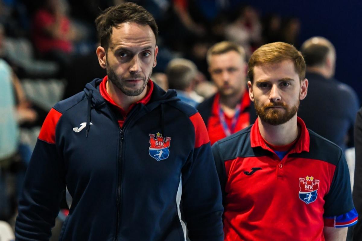 Alonso y Salvat, durante un partido.