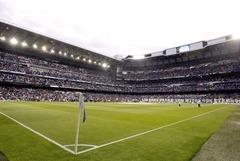 Vista del Santiago Bernabéu.