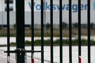 La factoría navarra de Volkswagen permanece cerrada.