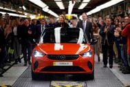Inicio de la producción del Opel Corsa eléctrico