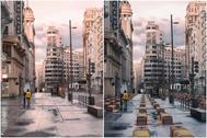 La foto del artista Ignacio Pereira y la modificación de Vox