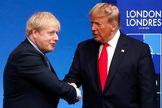 Boris Johnson y Donald Trump, el pasado diciembre, en Londres.