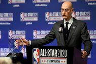 Adam Silver, comisionado de la NBA.