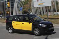 Un taxi de Barcelona.