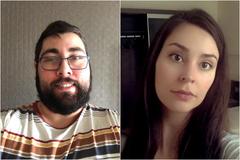Carlos y Clara están aislados en hospitales medicalizados