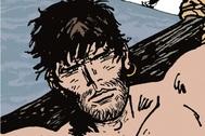 El final y el principio  de dos historias se encuentran en la figura de Corto Maltés atado a una balsa. El origen del cómic de aventuras adulto.