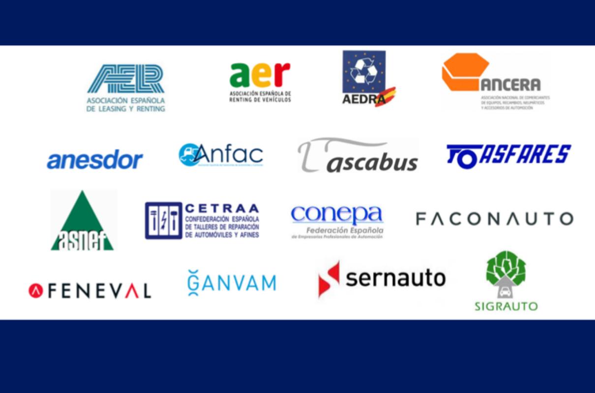 Algunas de las organizaciones firmantes del comunicado del sector
