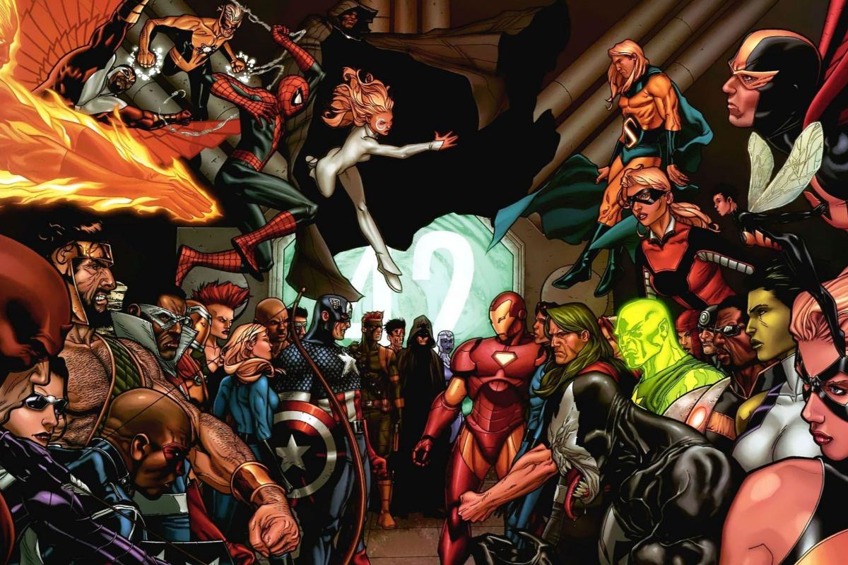 ¿Y tú, de qué lado estás? En 2006, <strong>Mark Millar</strong> y<strong> Steve McNiven</strong> dividieron en dos el universo Marvel, obligando a los superhéroes (ya los lectores) del Universo Marvel a tomar bando. Spiderman, Los Cuatro Fantásticos o la Patrulla X no se enfrentaban a un poderoso villano, sino entre sí, divididos entre los que estaban a favor de que se registrarse a la comunidad superheroica, comandados por Iron Man, y quienes defendían su libertad, liderados por el Capitán América. Un cómic que cambió las reglas del juego.