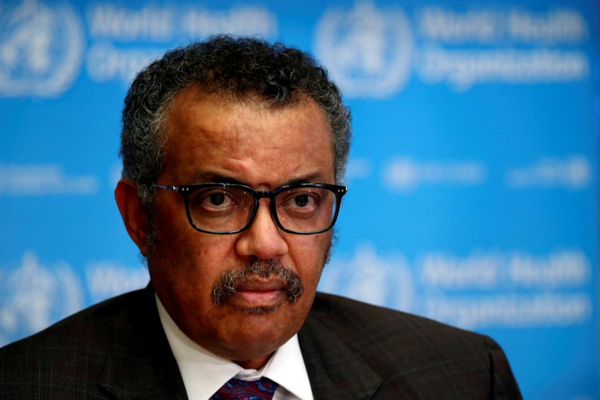 Tedros Adhanom, director general de la OMS, en una imagen de archivo.