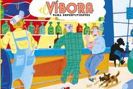 Anuncio del regreso de la revista 'El Víbora'.