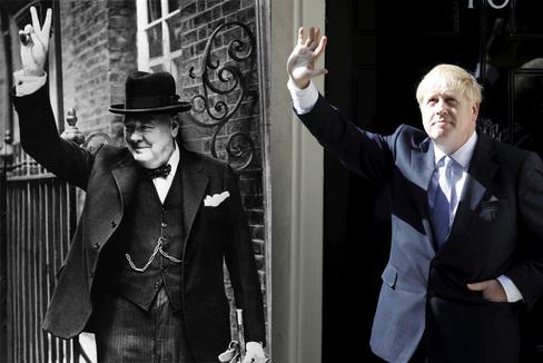 Lo que la neumonía de Churchill en lo más crítico de la Segunda Guerra Mundial enseña a Boris Johnson