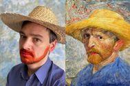 Dmitry Dolgorukov, marido de Katerina Brudnaya, en el papel de Van Gogh.