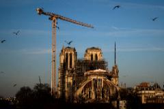 La catedral de Notre Dame, el pasado enero.