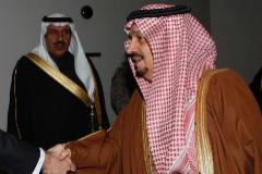 El gobernador de Riad,  Faisal bin Bandar bin Abdelaziz al Saud.