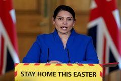 La secretaria de Interior británica, Priti Patel.