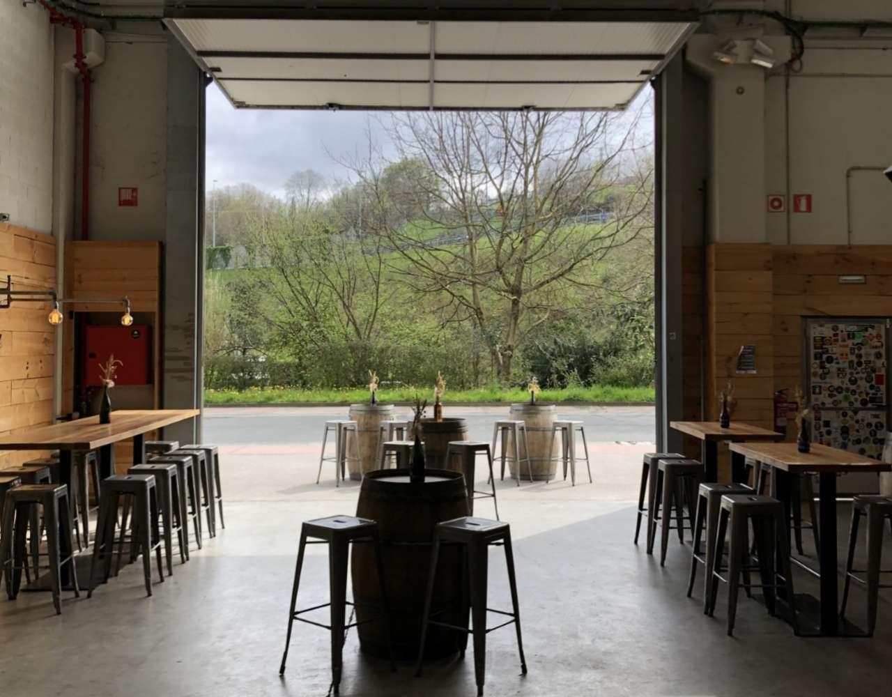 El taproom de Basqueland, en Hernani