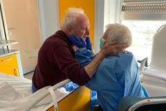 El matrimonio que se ha reencontrado en el hospital