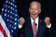 Joe Biden, ex vicepresidente de EEUU y candidato en las primarias del Partido Demócrata para las presidenciales del próximo noviembre.