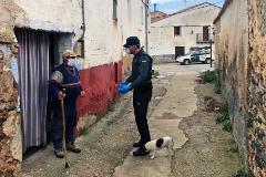 """El confinamiento de Vidal, 89 años y único vecino de un pueblo de Soria: """"¿Cómo me voy a contagiar si estoy solo?"""""""