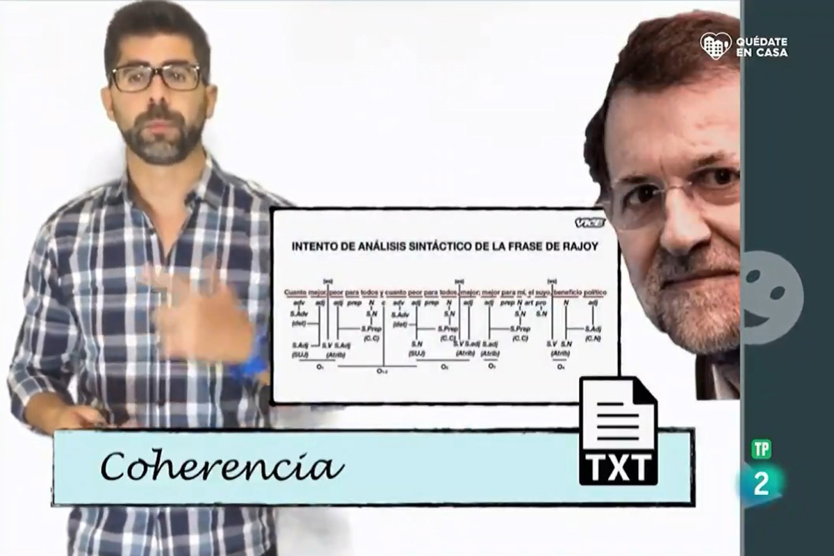 RTVE cesa al responsable de supervisar el vídeo educativo que utiliza a Mariano Rajoy como ejemplo de incoherencia
