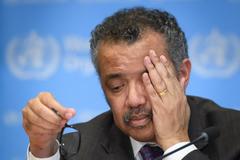 Tedros Adhanom Ghebreyesus, director de la OMS, en febrero.