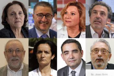 Algunos de los expertos autonómicos.