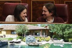 """La """"suerte"""" de Pablo Iglesias e Irene Montero de tener """"un jardín en casa para sacar a los niños"""""""