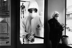 Máscaras bajo tierra: la rareza de ir en metro durante el confinamiento