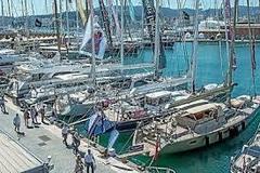 Embarcaciones amarradas en un puerto de Baleares.