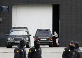 03-2020. Comunidad de Madrid. Morgue en el lt;HIT gt;Palacio lt;/HIT gt; de lt;HIT gt;Hielo lt;/HIT gt;. Coronavirus. Covid-19