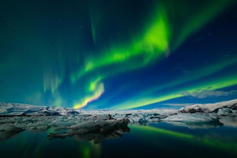 Auroras boreales.