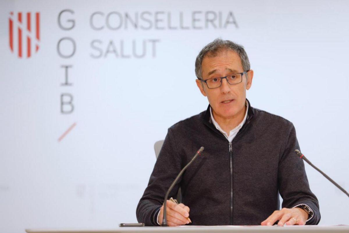 Javier Arranz, portavoz del comité de seguimiento del coronavirus en Baleares.