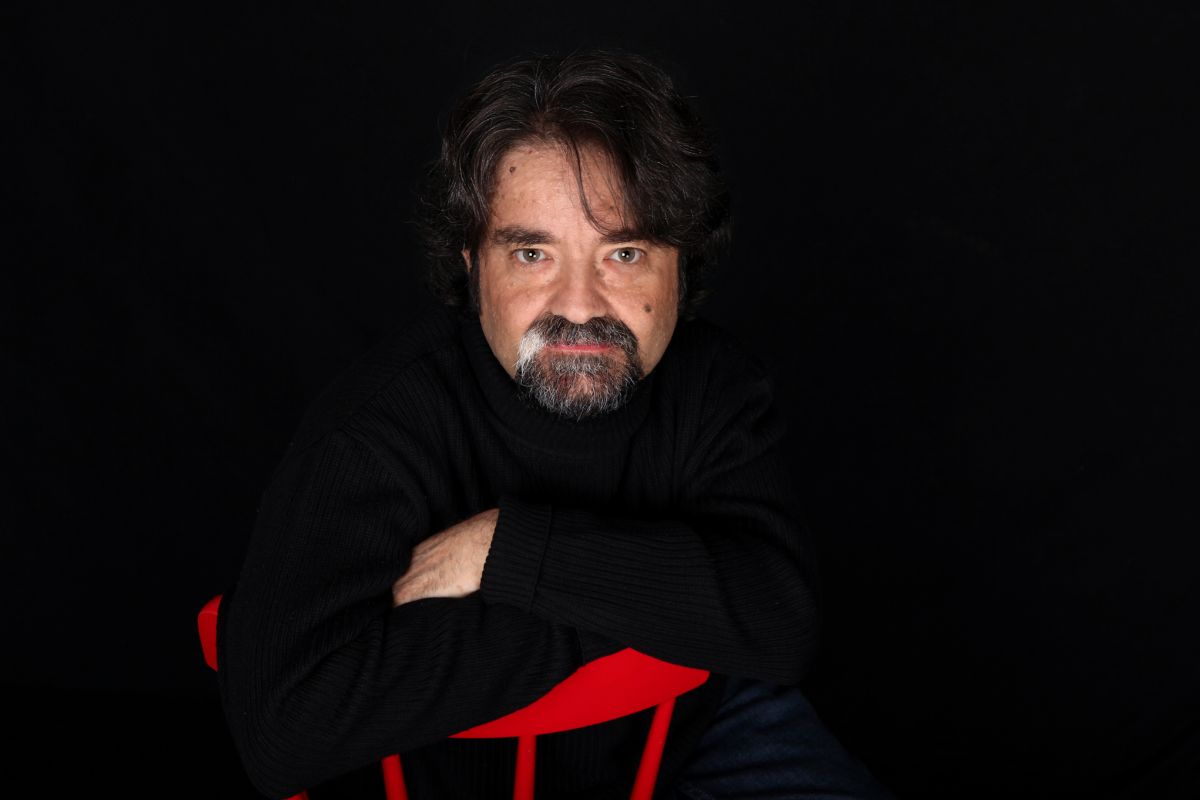 Juan Casamayor, editor de Páginas de Espuma.