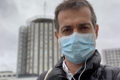 """""""Me dijeron: 'Acabo de ver a un paciente de 40 años con coronavirus, se está poniendo cada vez más malito...'"""""""