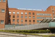 Fachada del Hospital Clínico.