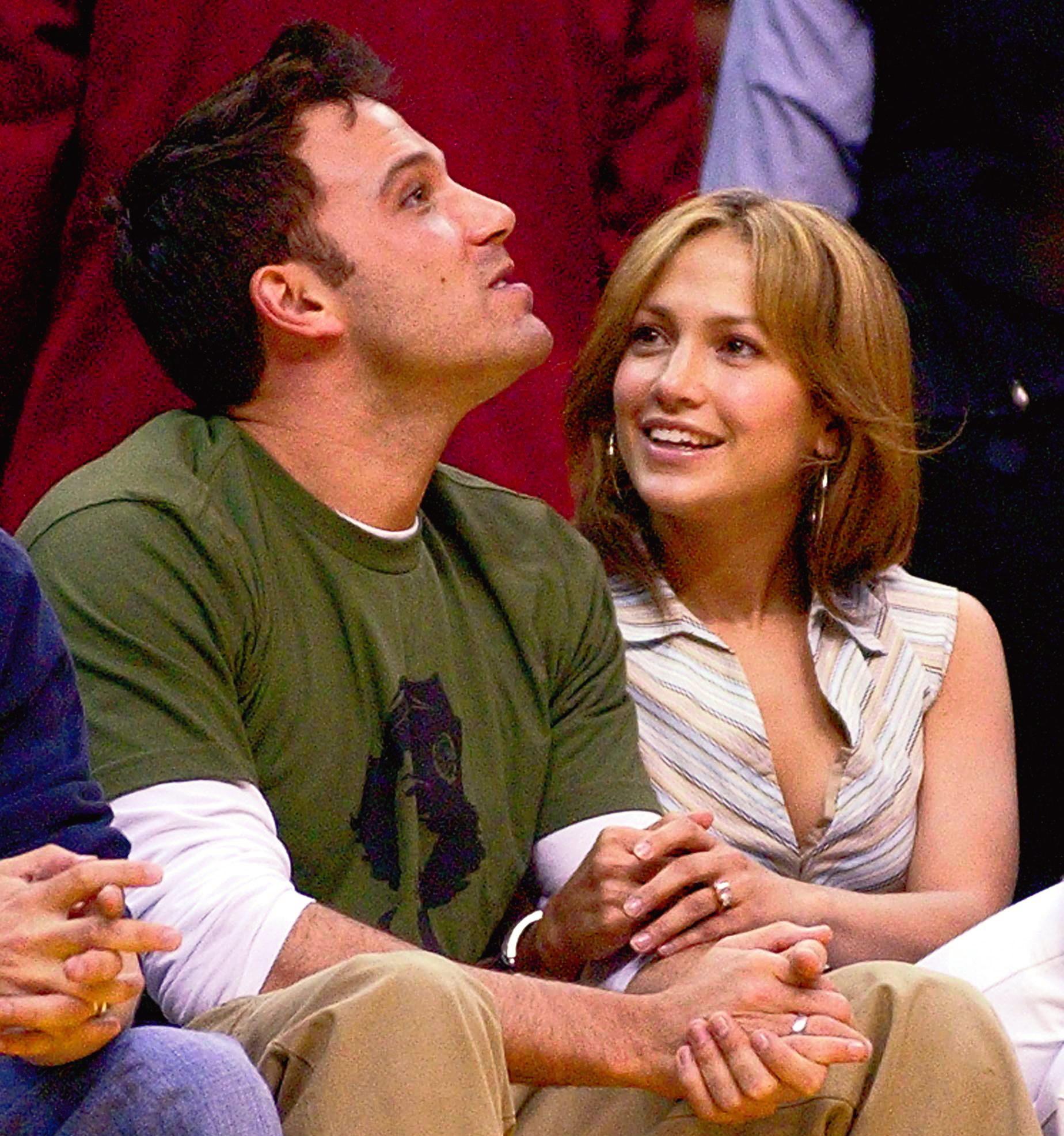 Ben Affleck y Jennifer Lopez, en una imagen de 2003.