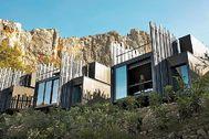 Las villas del hotel Vivood en Guadalest (Alicante).