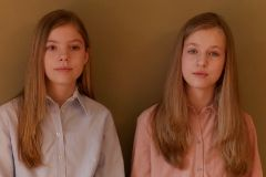 """La princesa Leonor y la infanta Sofía: """"No hace falta ser mayor para darse cuenta de la dificultad que vive España"""""""