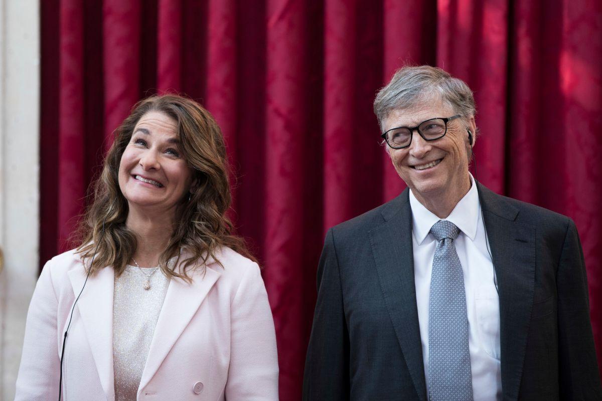 Bill Gates y Melinda, su esposa