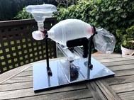 El ventilador médico automático que ha diseñado Miquel Giménez.